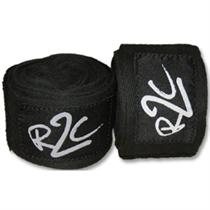 "180"" Black Cotton Handwraps"